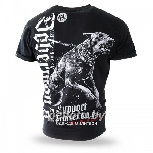 Футболка DOBERMANS SUPPORT Black TS220 | Dobermans Aggressive фото 2