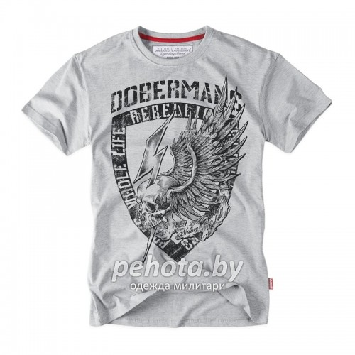 Футболка DOBERMANS TS164 Grey | Dobermans Aggressive фото 1