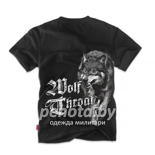 Футболка Wolf Throat Черная TS116 | Dobermans Aggressive фото 1