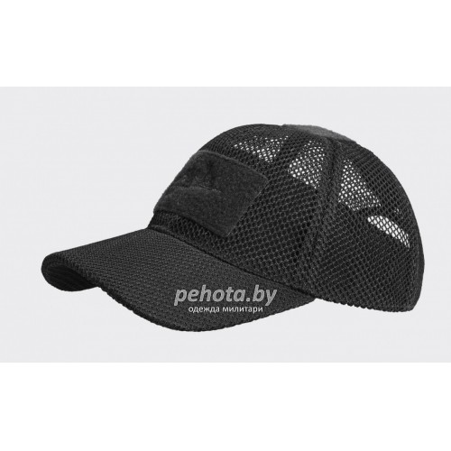 Кепка Baseball Mesh Black | Helikon- Tex фото 1