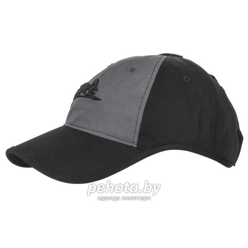 Кепка Logo Cap Black/Shadow Grey | Helikon-Tex фото 1