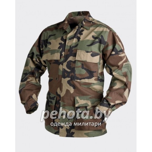 Китель BDU US Woodland | Helikon-Tex фото 1