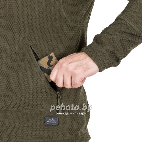 Кофта флисовая Alpha Tactical Foliage Green | Helikon- Tex фото 6