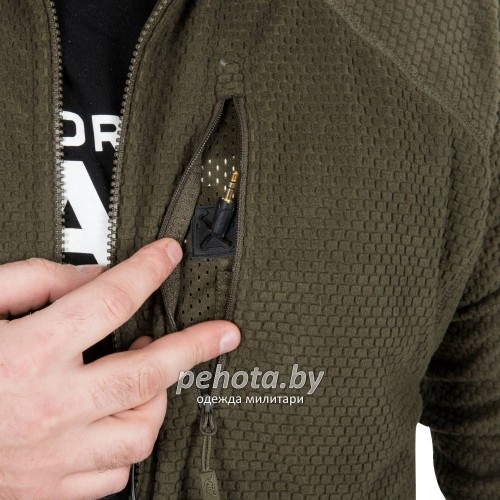 Кофта флисовая Alpha Tactical Shadow Grey | Helikon-Tex фото 9