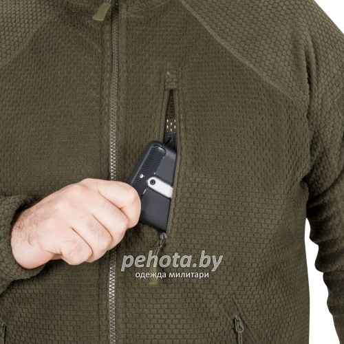 Кофта флисовая Alpha Tactical Shadow Grey | Helikon-Tex фото 10