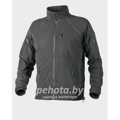 Кофта флисовая Alpha Tactical Shadow Grey | Helikon-Tex фото 1