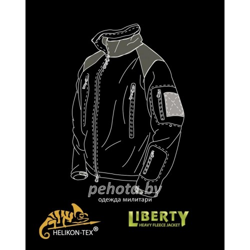 Кофта флисовая Liberty MP Camo | Helikon-Tex фото 4