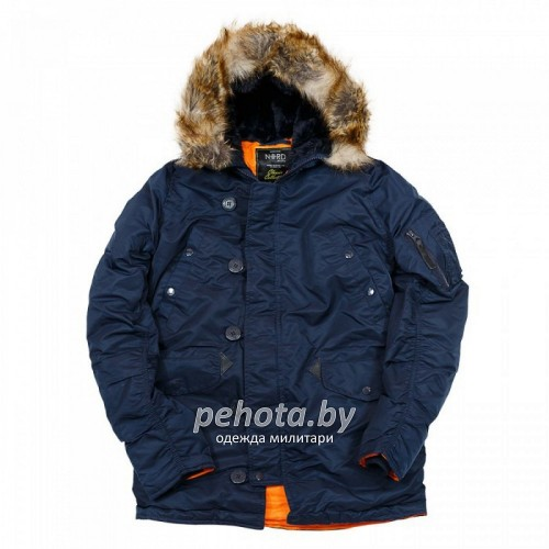 Куртка Аляска HUSKY Rep.Blue/Orange | Nord Storm фото 8