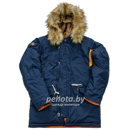 Куртка Аляска Oxford 2.0 Compass Rep.Blue/Orange | Nord Denali фото 8