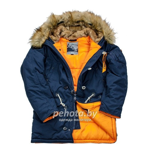 Куртка Аляска Oxford 2.0 Compass Rep.Blue/Orange | Nord Denali фото 11