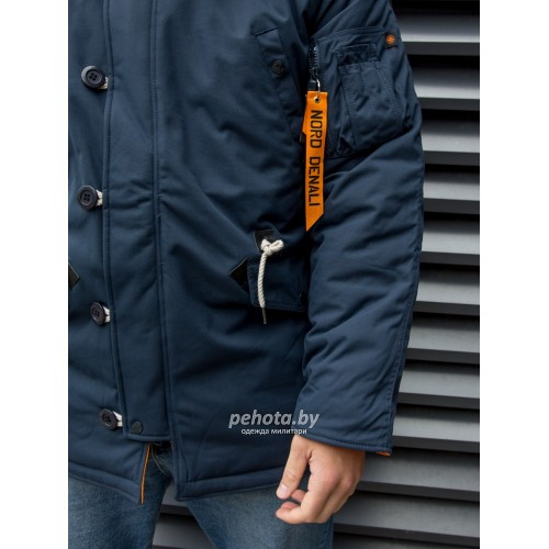 Куртка Аляска Oxford 2.0 Compass Rep.Blue/Orange | Nord Denali фото 24