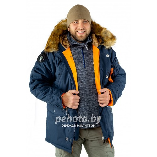 Куртка Аляска Oxford 2.0 Compass Rep.Blue/Orange | Nord Denali фото 9