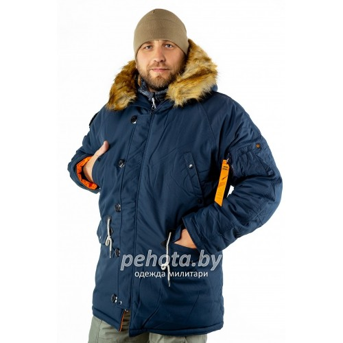 Куртка Аляска Oxford 2.0 Compass Rep.Blue/Orange | Nord Denali фото 10