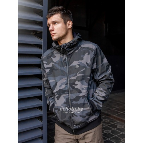 Куртка Ashore softshell 30102 Dark camo | Vintage Industries фото 8