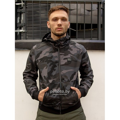 Куртка Ashore softshell 30102 Dark camo | Vintage Industries фото 3