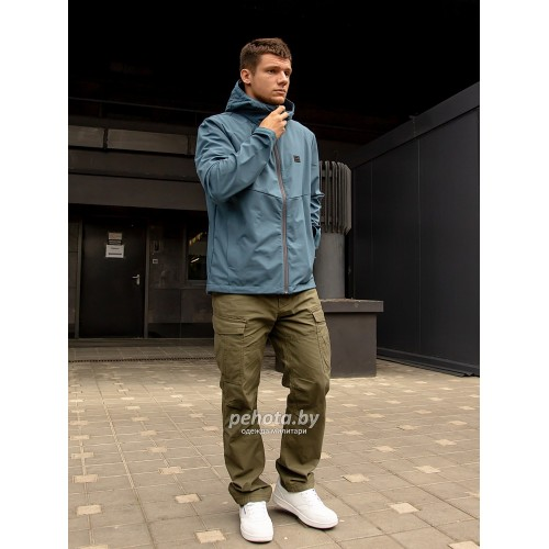 Куртка Ather softshell 30104 Blue | Vintage Industries фото 5