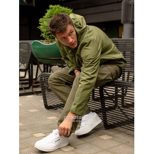 Куртка Ather softshell 30104 Olive | Vintage Industries фото 2
