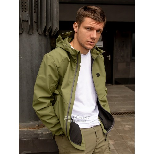 Куртка Ather softshell 30104 Olive | Vintage Industries фото 4