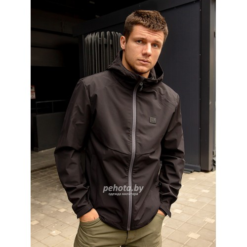 Куртка Ather softshell 30104 Black | Vintage Industries фото 1
