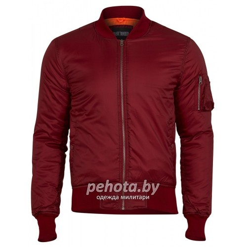 Куртка Basic Bomber Jacket Red | Surplus фото 1