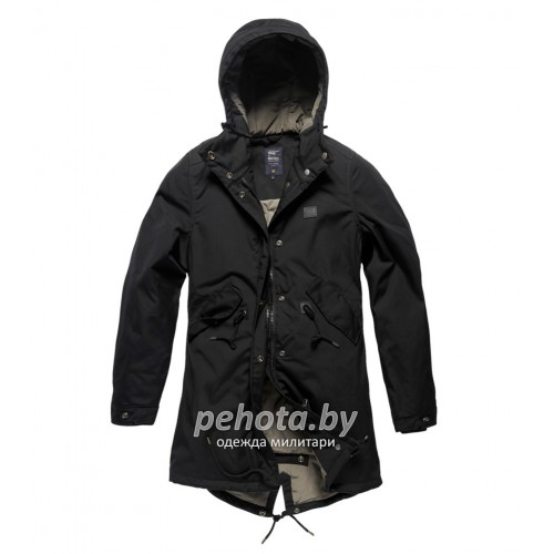 Куртка женская Britt ladies parka 25304 Black | Vintage Industries фото 1