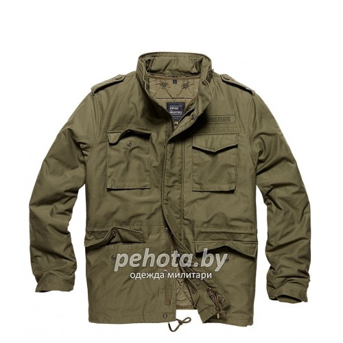 Куртка Capper parka 2204 Olive | Vintage Industries фото 8