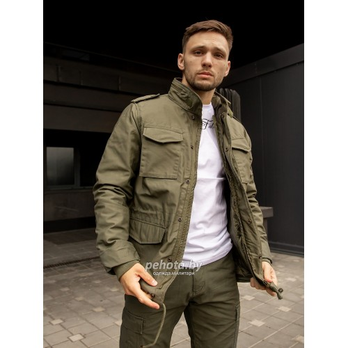 Куртка Capper parka 2204 Olive | Vintage Industries фото 1