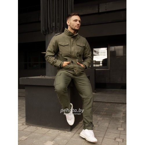 Куртка Capper parka 2204 Olive | Vintage Industries фото 11