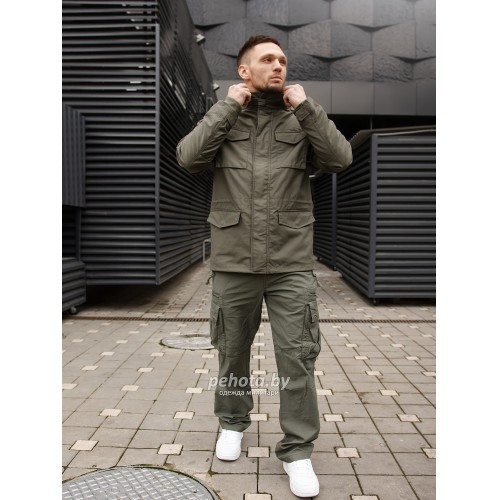 Куртка Capper parka 2204 Olive | Vintage Industries фото 3