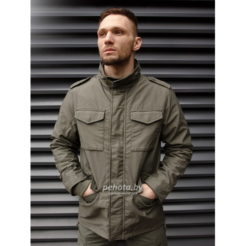 Куртка Capper parka 2204 Olive | Vintage Industries фото 2