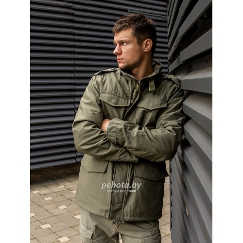 Куртка Capper parka 2204 Olive | Vintage Industries фото 6