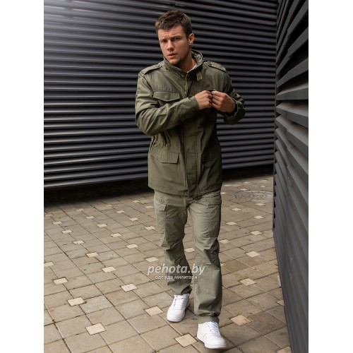 Куртка Capper parka 2204 Olive | Vintage Industries фото 4