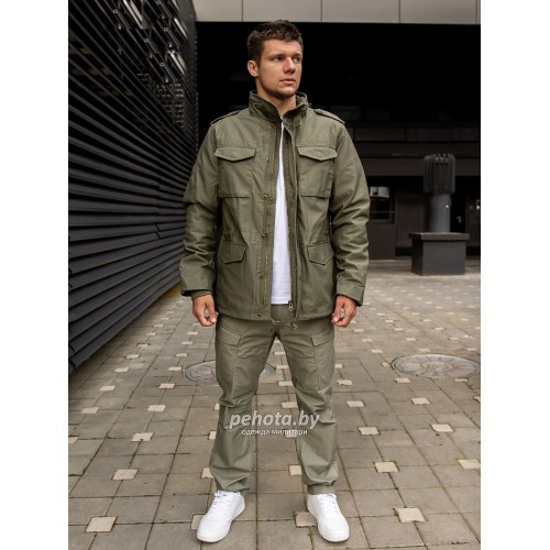 Куртка Capper parka 2204 Olive | Vintage Industries фото 7