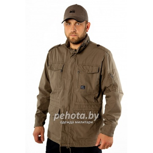 Куртка Cranford 2041 Dark Khaki | Vintage Industries фото 2