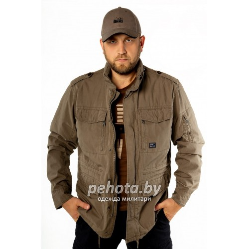 Куртка Cranford 2041 Dark Khaki | Vintage Industries фото 1
