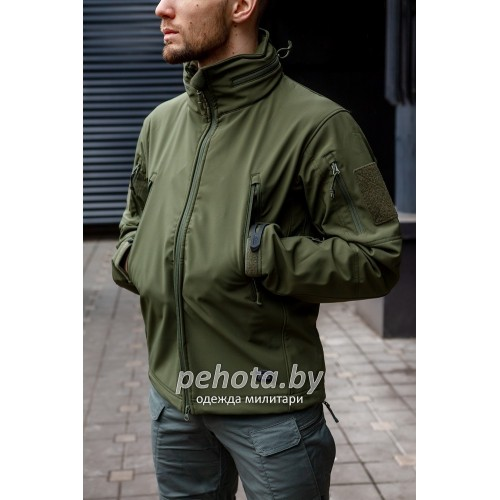 Куртка Softshell Gunfighter Olive Green | Helikon-Tex фото 3