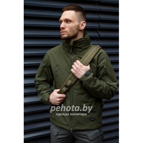 Куртка Softshell Gunfighter Olive Green | Helikon-Tex фото 1