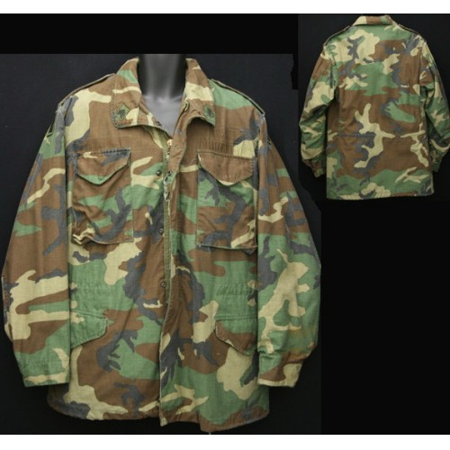 Куртка M65 Woodland US Army оригинал фото 2