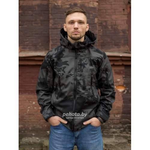 Куртка Оперативник GT GEN-II SoftShell Night Camo | Grizzly фото 7