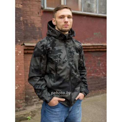 Куртка Оперативник GT GEN-II SoftShell Night Camo | Grizzly фото 8