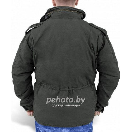 Куртка зимняя Regiment M65 Jacket Black | Surplus фото 3