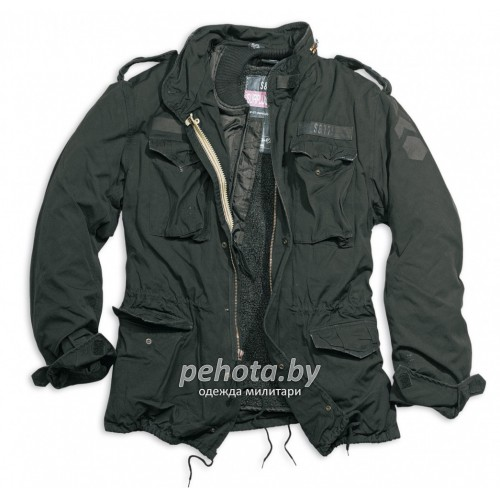 Куртка зимняя Regiment M65 Jacket Black | Surplus фото 4