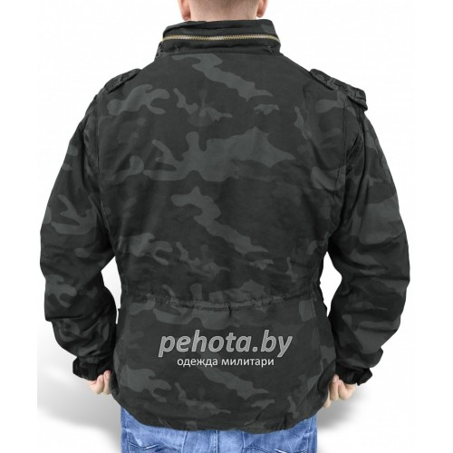 Куртка зимняя Regiment M65 Jacket Black camo | Surplus фото 4