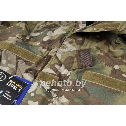 Куртка Soft Shell Level 5 Camogrom | Helikon-Tex фото 3