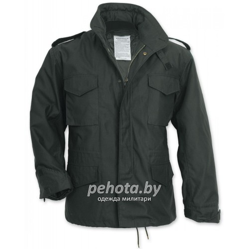 Куртка US Fieldjacket m65 Black | Surplus фото 1