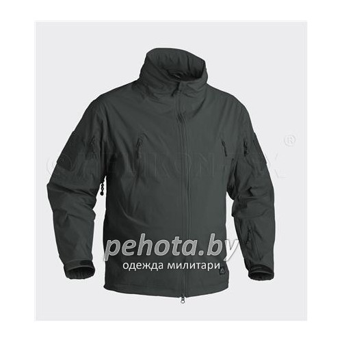 Куртка ветровка Trooper Soft Shell Jungle Green | Helikon-Tex фото 1