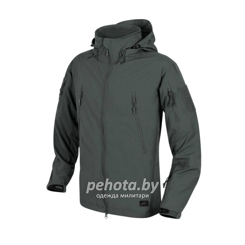 Куртка ветровка Trooper Soft Shell Jungle Green | Helikon-Tex фото 2