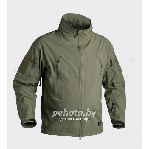 Куртка ветровка Trooper Soft Shell Olive Green | Helikon-Tex фото 1