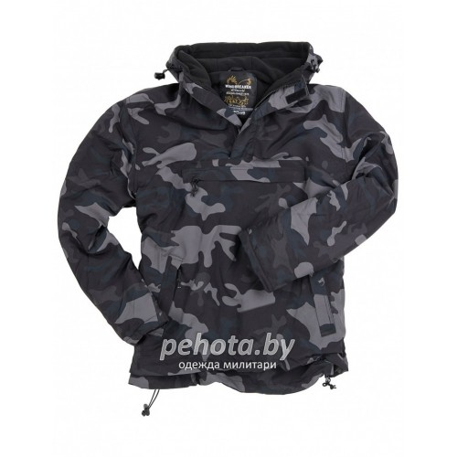 Куртка-ветровка Windbreaker Black Camo | Surplus фото 2