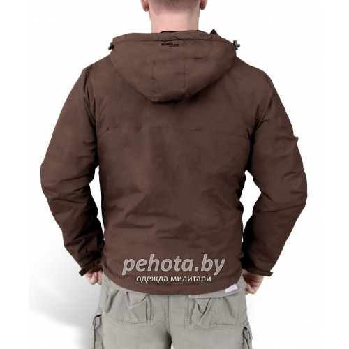 Куртка-ветровка Windbreaker Brown | Surplus фото 5